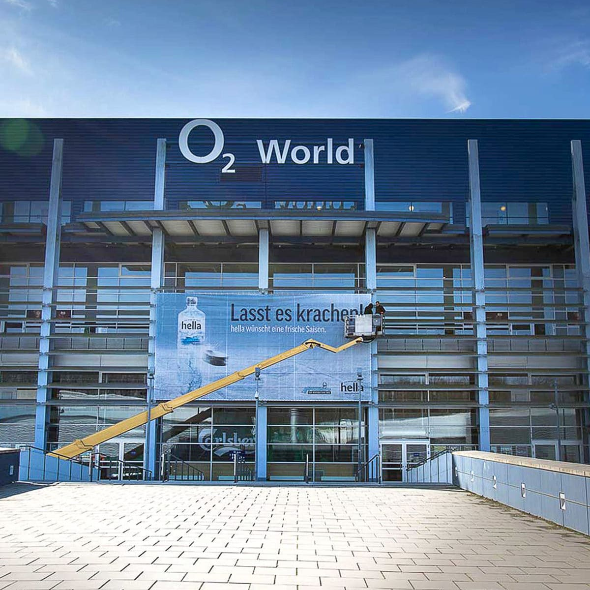 O2 World Arena in Hamburg